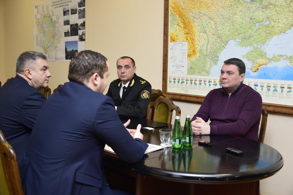 Нарада з представниками Державної служби України з безпеки на транспорті