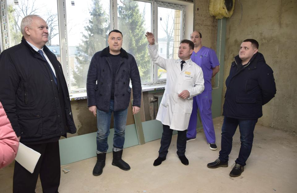 Інспектування приміщень нейрохірургічного відділення