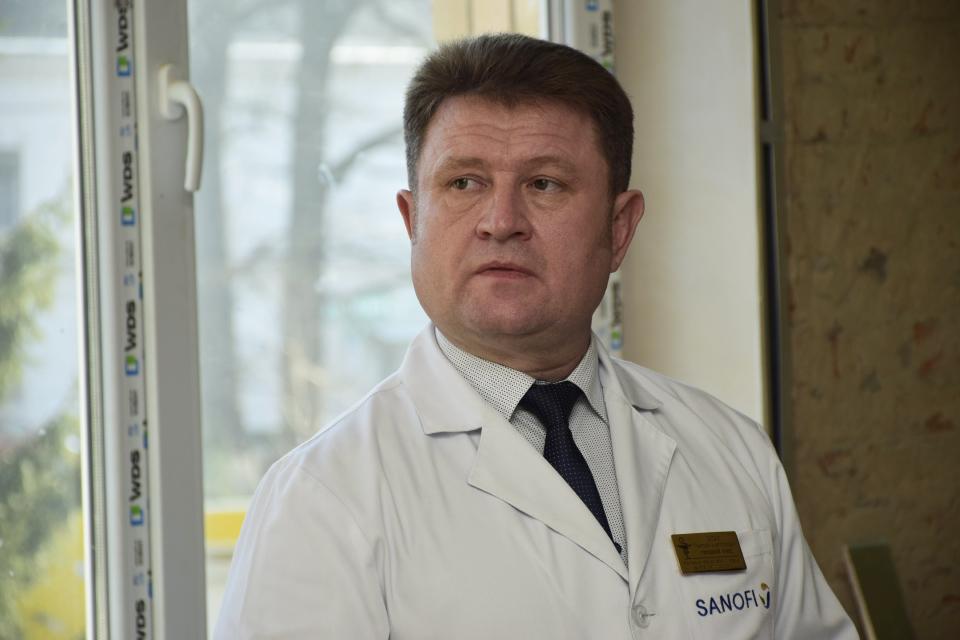 Головний лікар Полтавської обласної лікарні Григорій Оксак