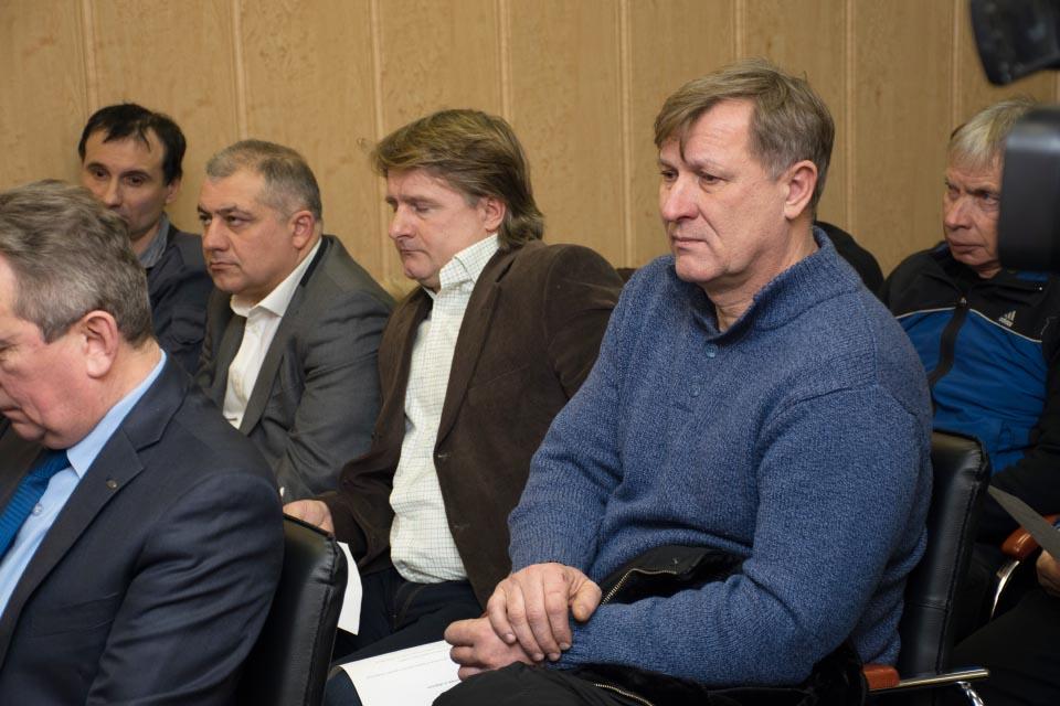 Засідання Громадської спілки «Федерація футболу Полтавщини»