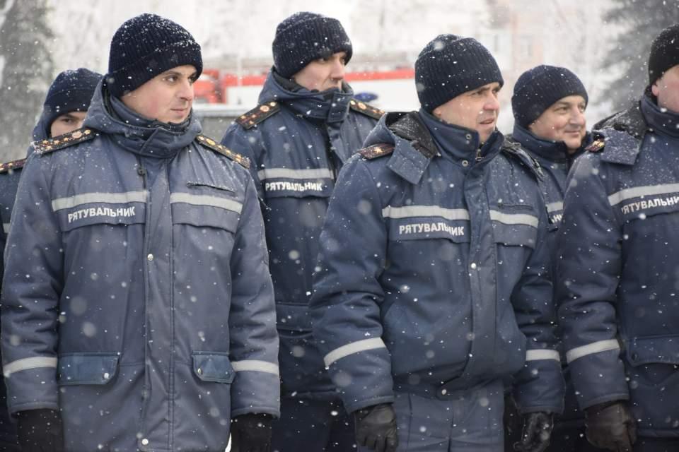 Рятувальники ДСНС України у Полтавській області