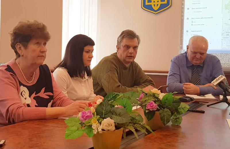 Лідія Войтенко, Ольга Бастоногова, Андрій Байбарза та Віктор Лисак