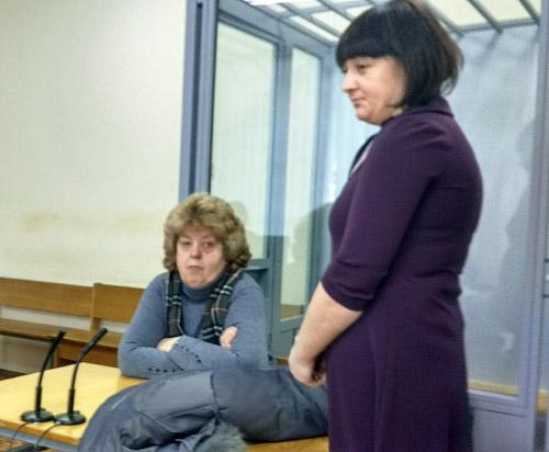 Тамара Оніпко та Наталія Базавлук