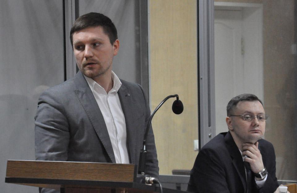 Захисники підозрюваного Григорій Фелоненко та Олександр Харченко