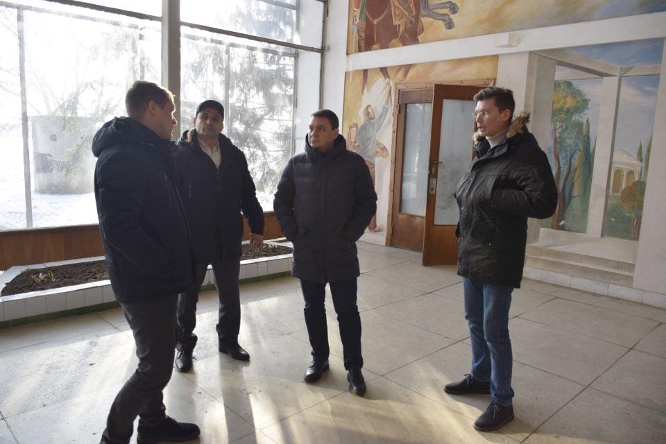 Зустріч в аеропорту «Полтава»