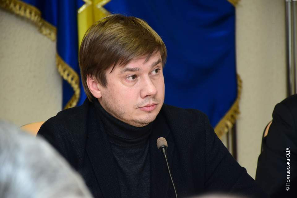 Голова Полтавської обласної ради Олександр Біленький