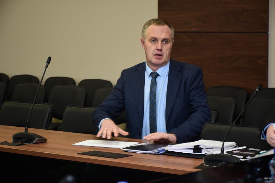 Сергій Бульбаха, голова Новосанжарської РДА