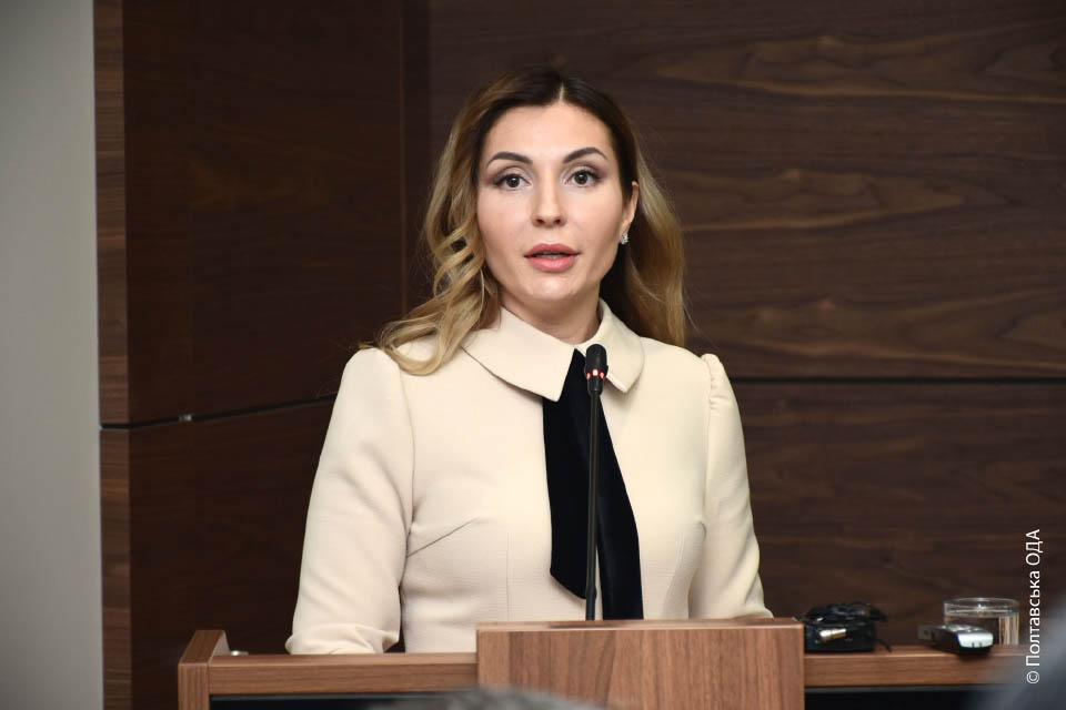 Директор Департаменту економрозвитку Інна Іщенко