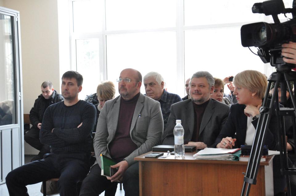 Дмитро Трихна, Геннадій Фетисов, Ігор Гавриленко та Лариса Гольник