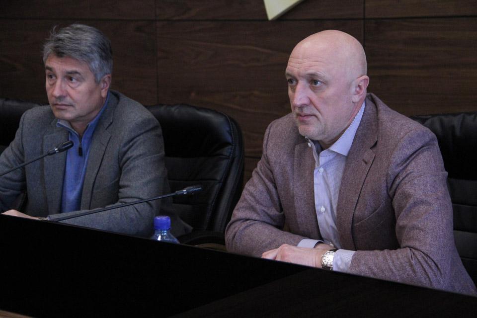 Олег Пругло та Валерій Головко