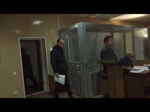 Геннадій Капканов у Октябрському райсуді Полтави (2018.02.26)