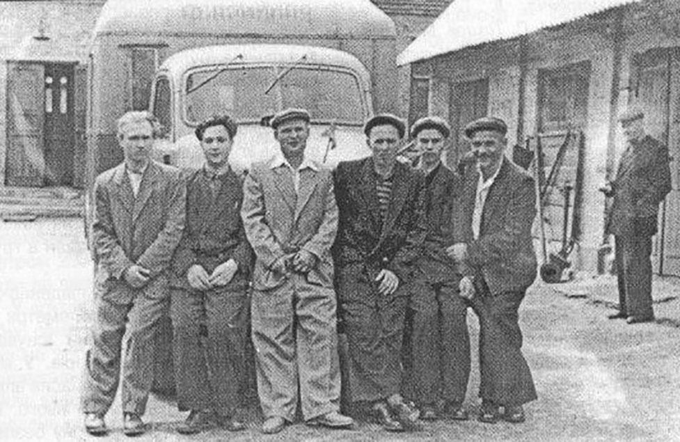 Аварійно-відновлювальна бригада на початку 60-х років