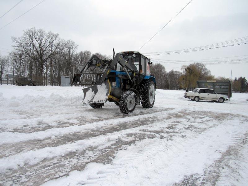 Снігоочисна техніка Мачухівської ОТГ