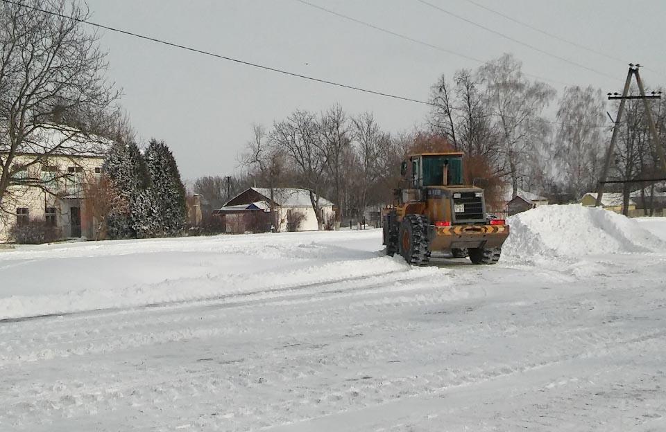 Боротьба зі снігом Коломацької сільської ради