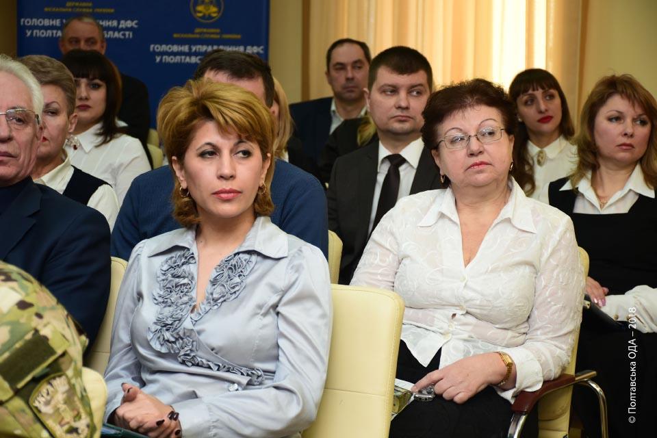 На засіданні Колегії ГУ ДФС у Полтавській області