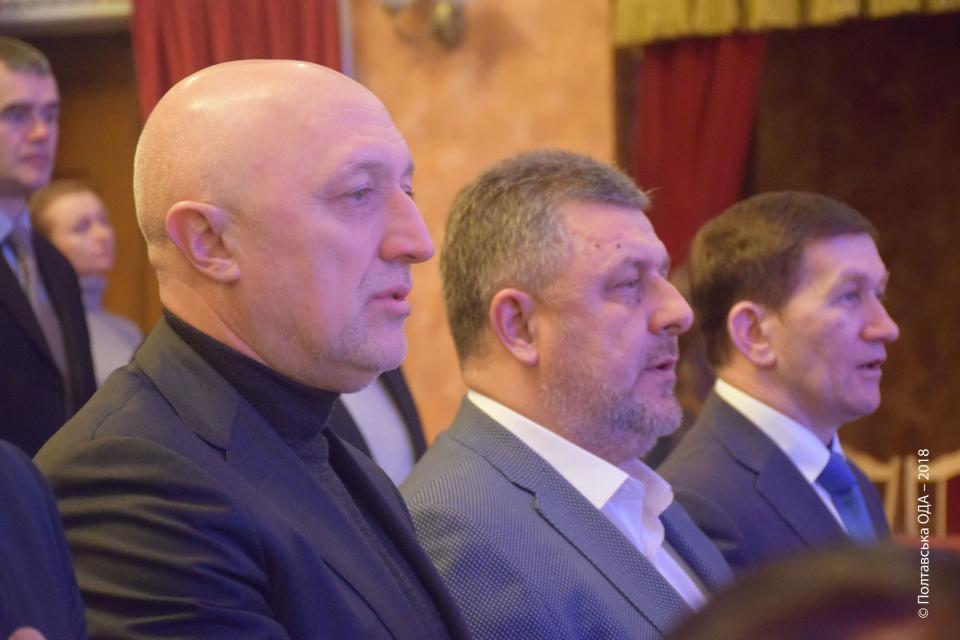 Валерій Головко, Ігор Піддубний, Сергій Фролов