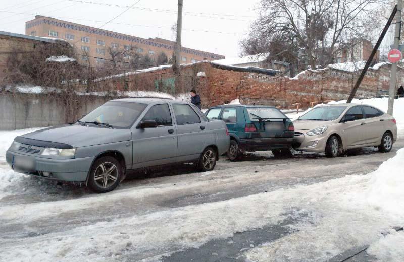 ДТП вул. Стрітенській