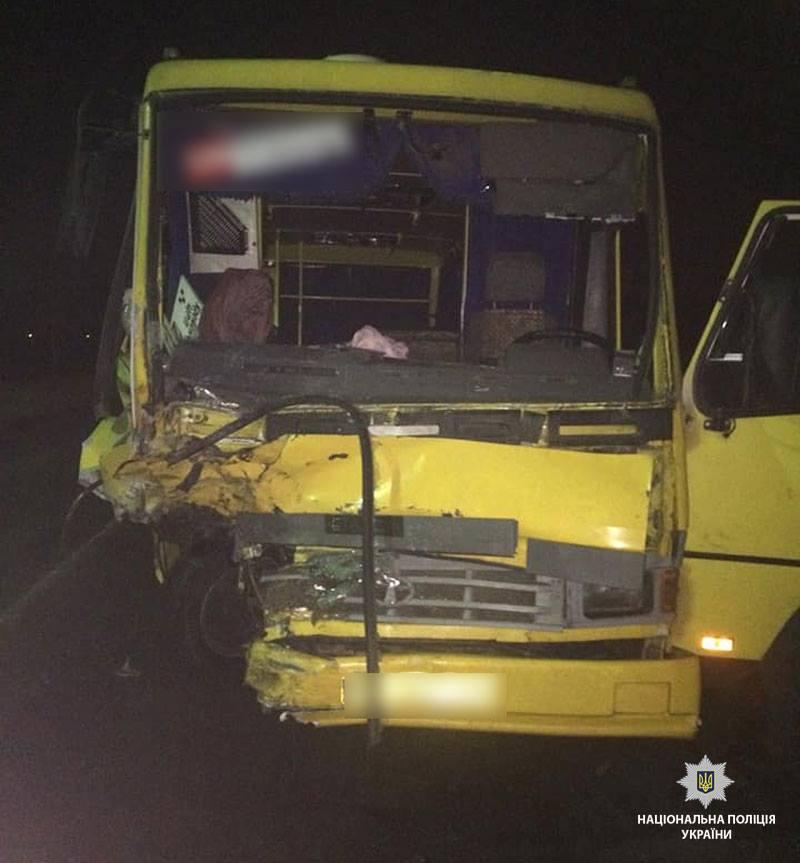 ДТП уКременчуцькому районі: загинув пасажир мікроавтобуса