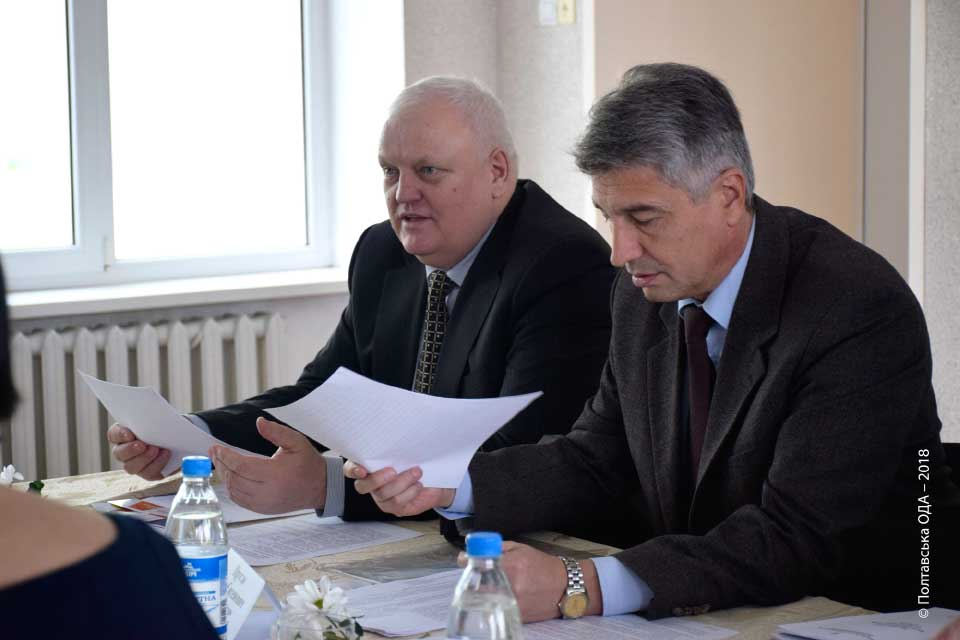 Олег Пругло і Віктор Лисак