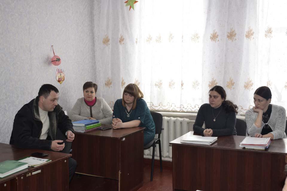 Під час зустрічі у Василівській школі