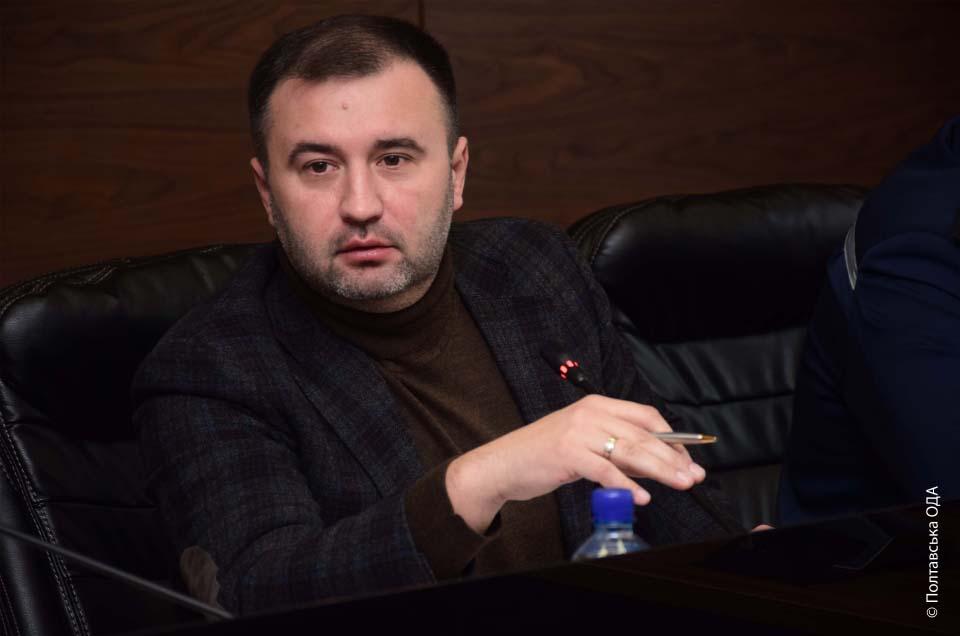 Заступник голови Полтавської ОДА Роман Товстий