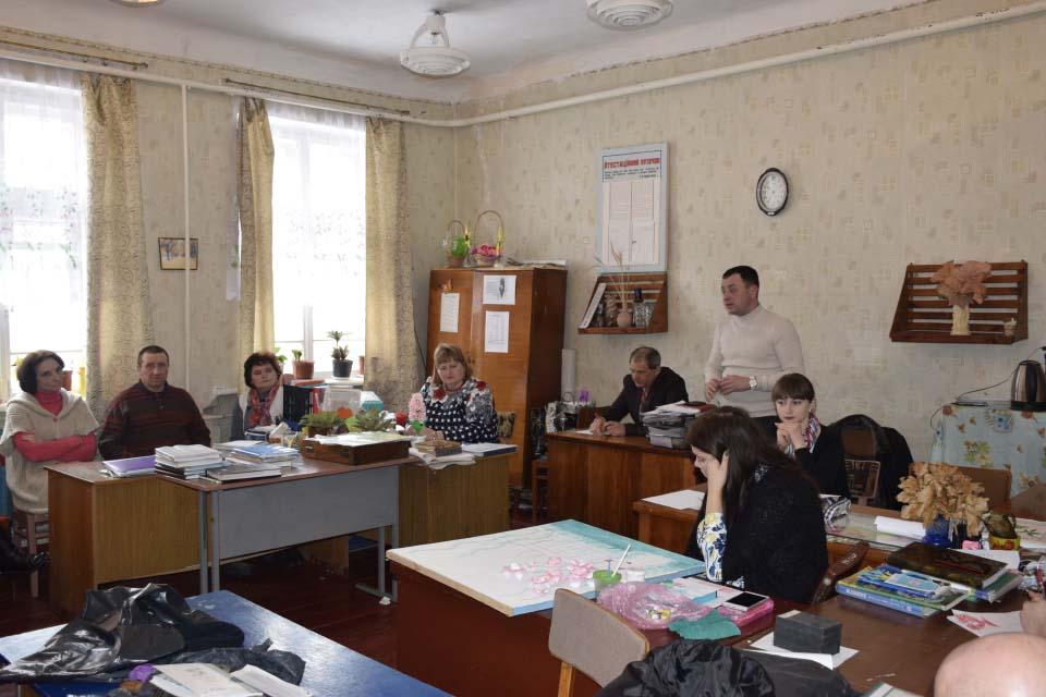 На зустрічі у Коломацькій школі