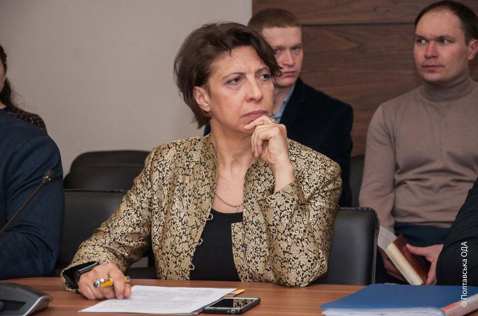 Начальник управління містобудування і архітектури Полтавської ОДА Ірина Особік (1)