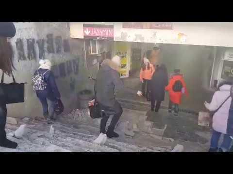 Підземний перехід на вул. Шевченка у Полтаві (2018.03.19)