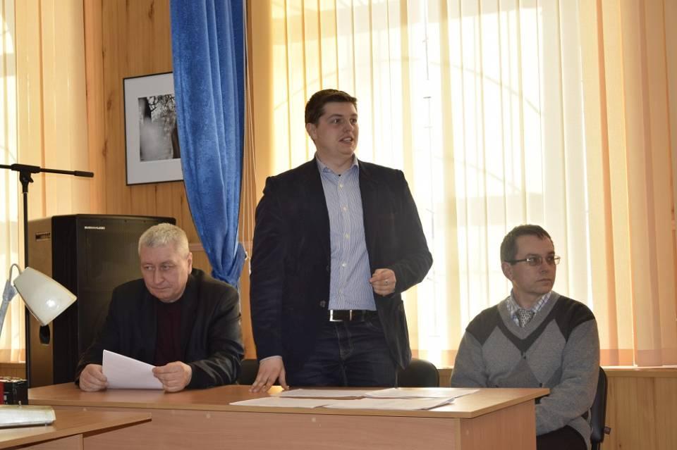 Сергій Рибалко вітає учасників
