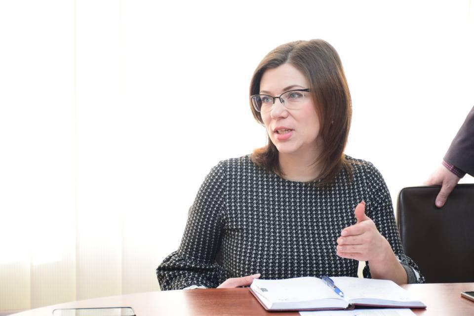Олена Кражан, голова Оржицької РДА
