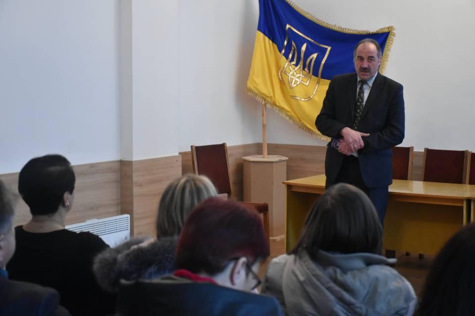 Голова Мачухівської громади Валерій Білокінь розповідає про історію ОТГ