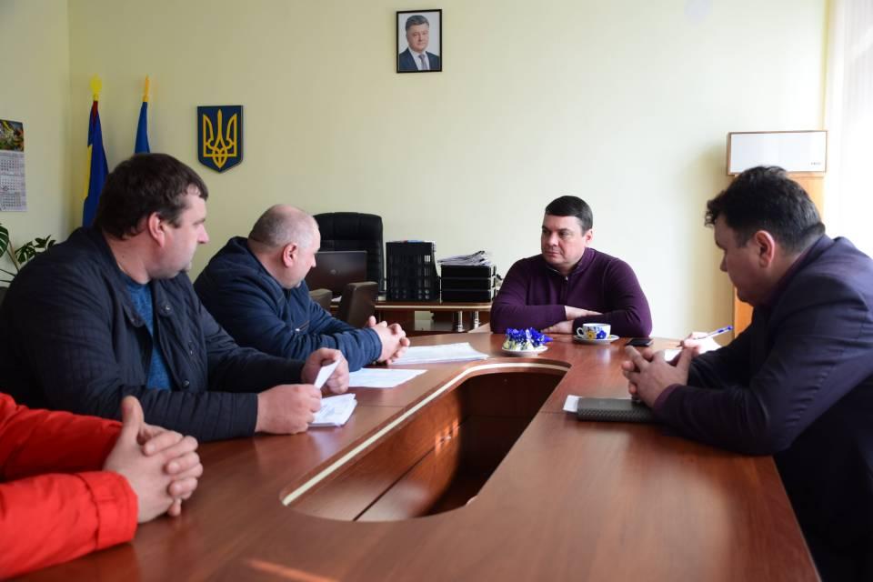 На прийомі громадян в Оржицькій РДА