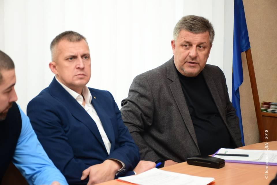 Олександр Буцький та Ігор Піддубний