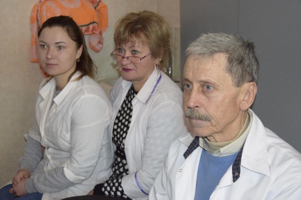 Медпрацівники амбулаторії