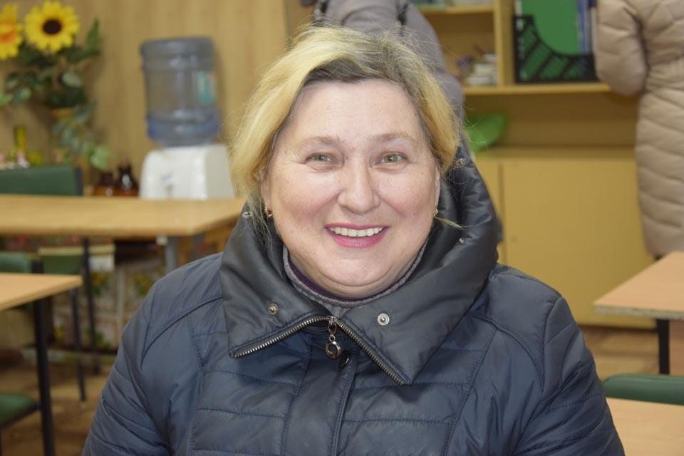 Вчителька української мови та літератури Валентина Шиян