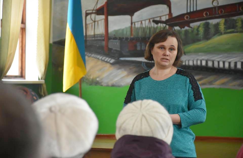 Терешківський сільський голова Наталія Туркеніч
