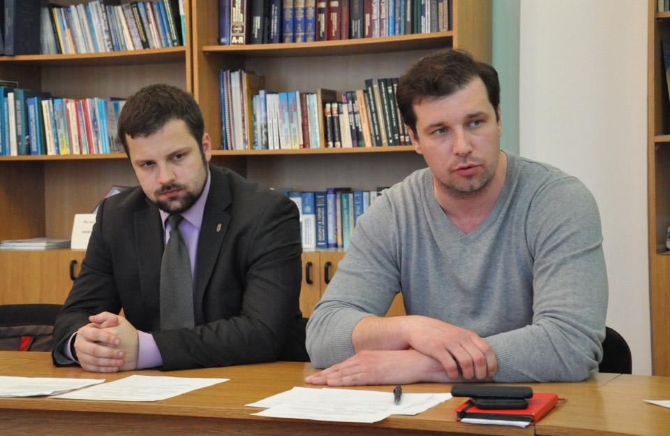Депутати Юліан Матвійчук та Олександр Шамота