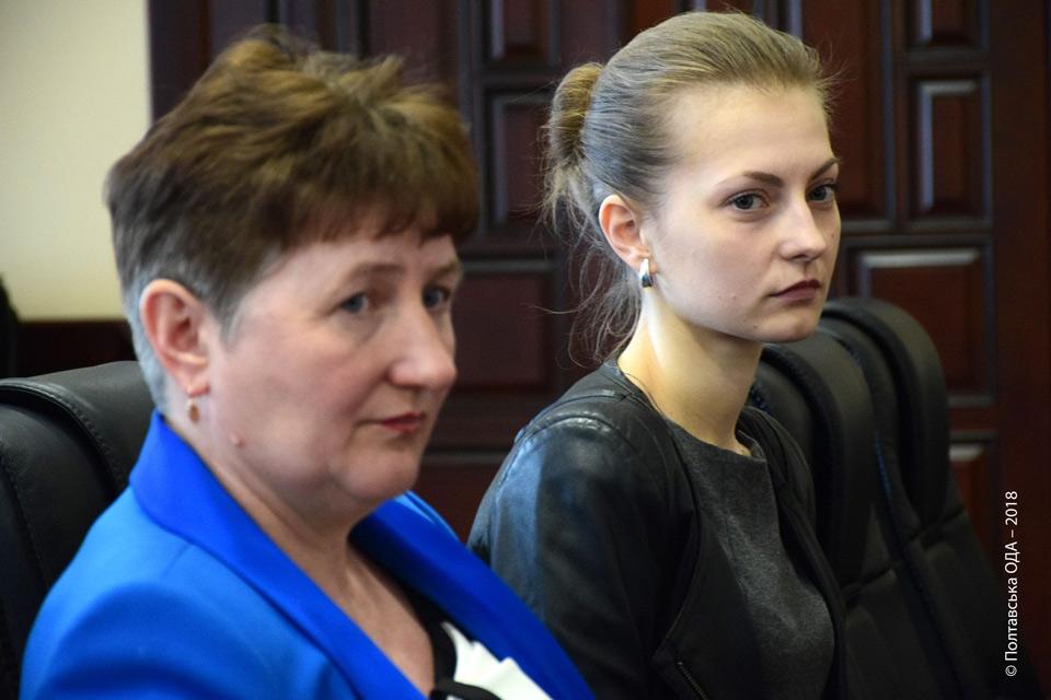 Валентина Городянко (зліва)