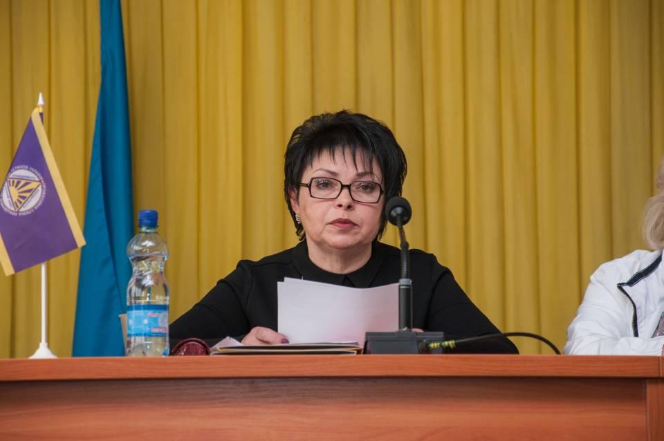 Голова Полтавської обласної організації профспілки працівників державних установ
