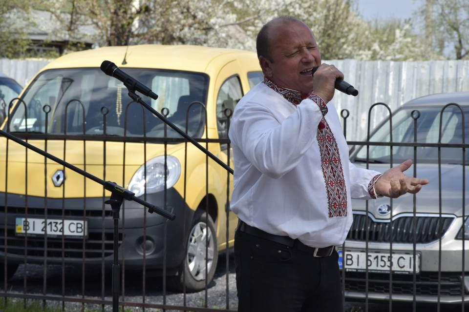 На концерті пролунала не одна пісня у виконанні місцевих талановитих співаків