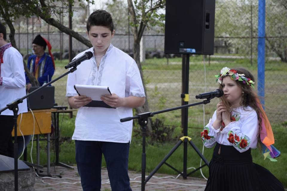 Молоде покоління читало тематичні вірші