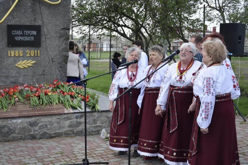 Участь у концерті взяв місцевий колектив -«Журавка»