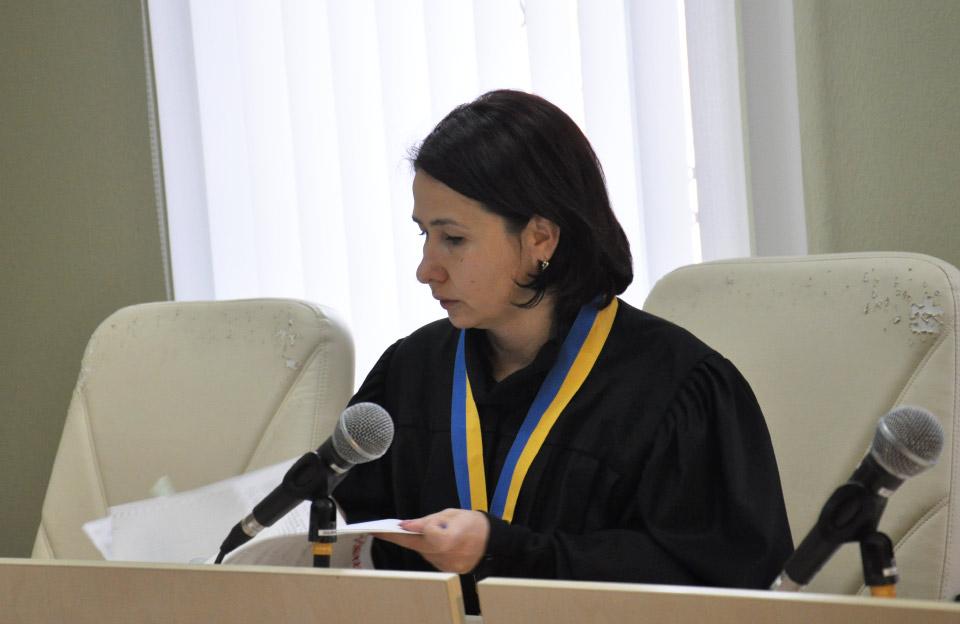 Суддя Людмила Єресько