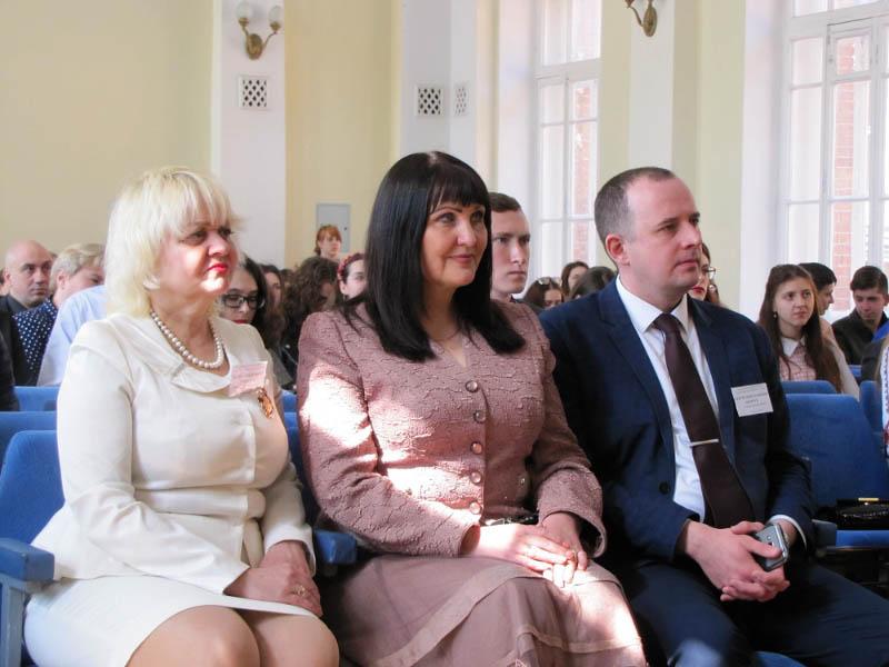 Марина Гриньова, Олена Харченко та Сергій Шевчук