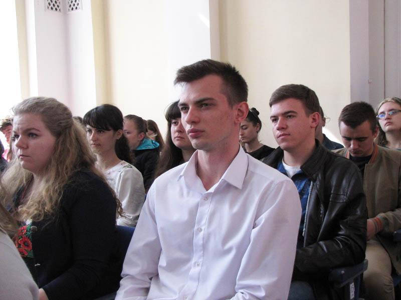 Станіслав Юрович представляв роботу «Видова різноманітність денних лускокрилих околиць Полтави»  у секції «Біологія тварин»