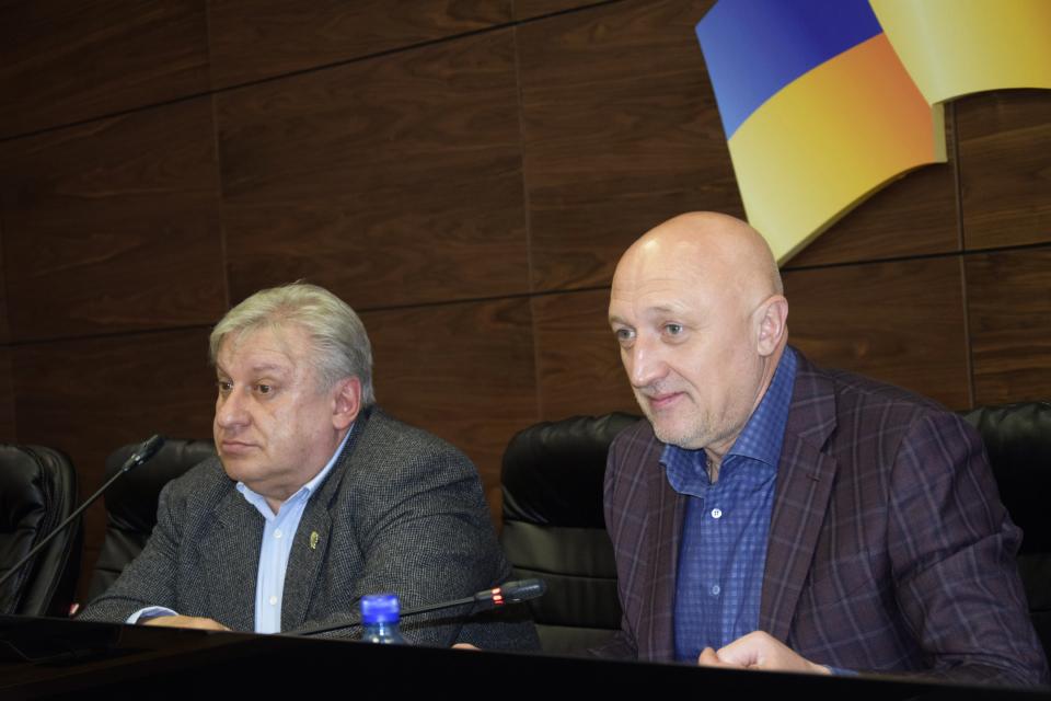 Володимир Мохначов, Валерій Головко