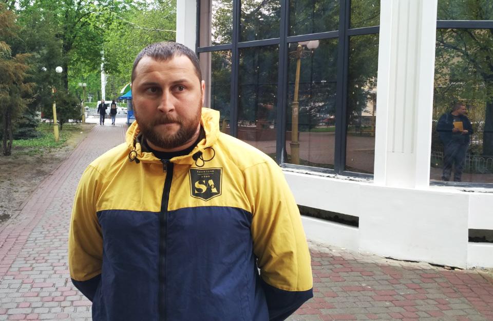 Анатолій Шиян, голова Полтавської міської партійної організації «Національного корпусу»