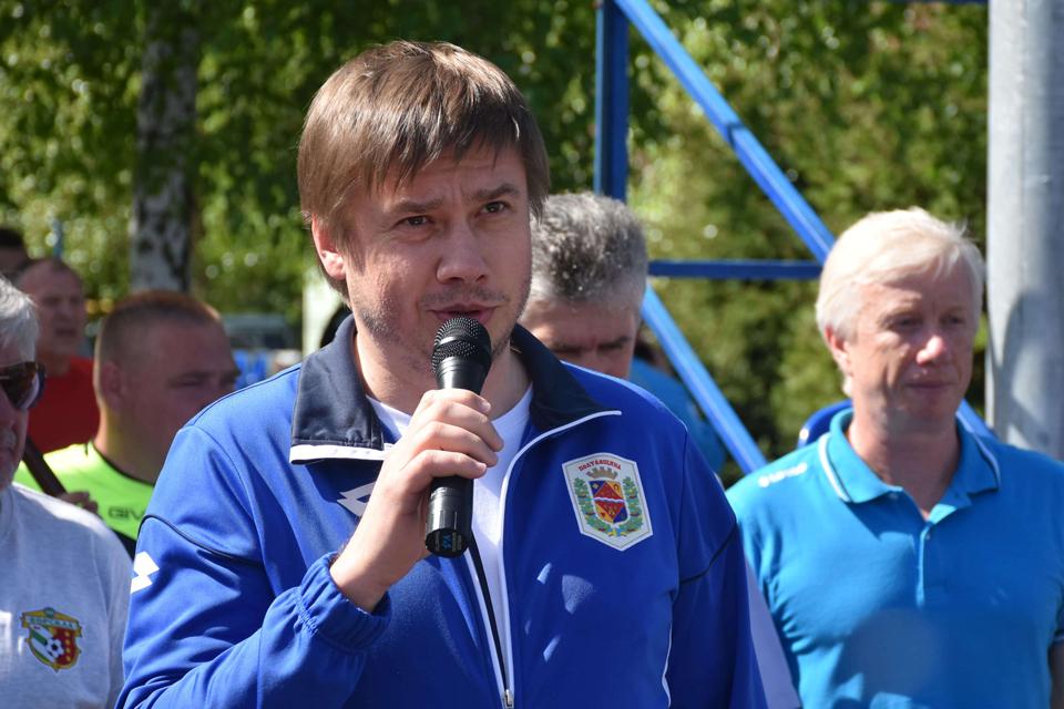 Голова Полтавської облради Олександр Біленький