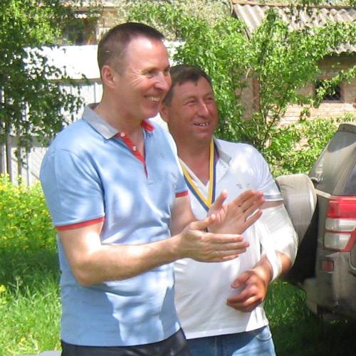 Андрій Матковський та Сергій Луценко