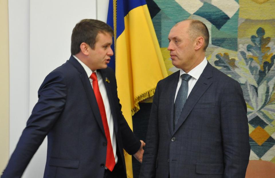 Денис Поліщук та Олександр Мамай